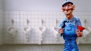 toilettes bouchées